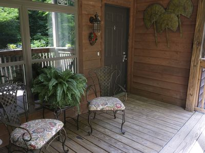 Photo for Beautiful, Newly Renovated Mountain Retreat Above Toxaway Falls!