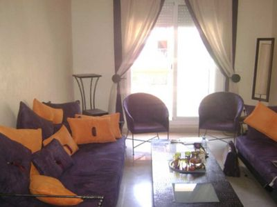 Photo for Charming Apartment With Pool In The Center Of Gueliz Marrakech
