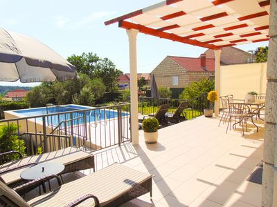Photo for Sunny Villa, stylish and modern new property with private pool, near Dubrovnik