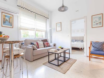 Photo for 7 Revueltas apartment in Casco Antiguo with air conditioning & private terrace.