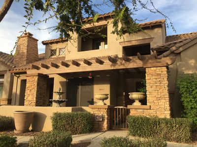 Photo for Beautiful fully furnished town home in Litchfield Park, AZ
