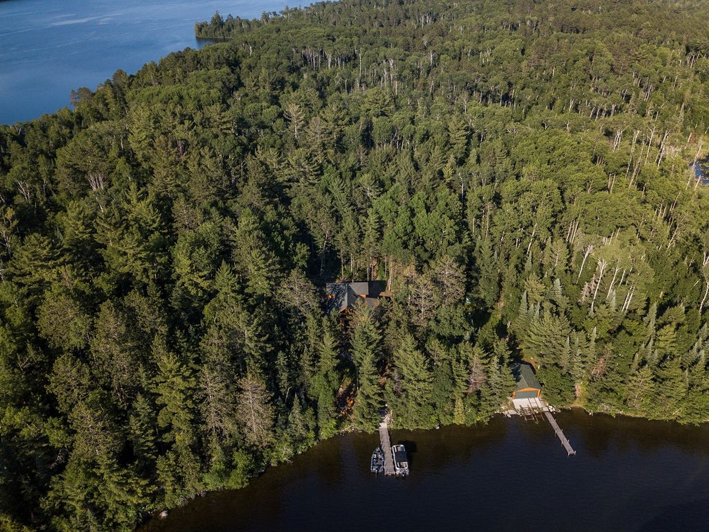 Secluded Lake Vermilion Log Cabin On Beauti Vrbo