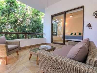 Photo for 25% Off (May & June) Exclusive Corner Condo with private Balcony in Akumal by olahola