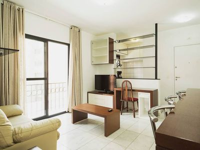 Photo for Spacious and modern apartment with balcony prox Av Paulista Great location with wifi