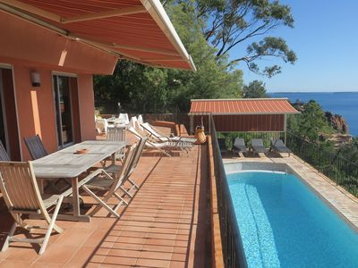 Photo for Panoramic sea view - Swimming pool - Creek - Exceptional offer until the end of 2019