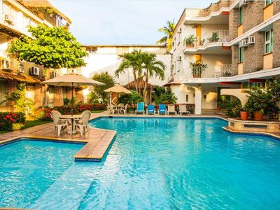 Photo for Luxury Suite near Beach w/ Private Balcony, Resort Pool, & Complimentary WiFi