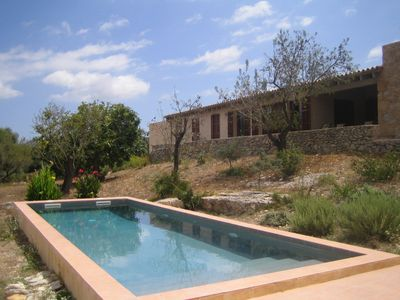Photo for Quiet getaway country house with private pool and beautiful views in Arta