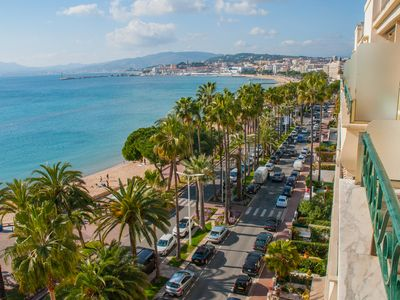 Photo for Cannes Croisette FIF available 18/05 to 25/05(garage wifi vue panoramique 7eme