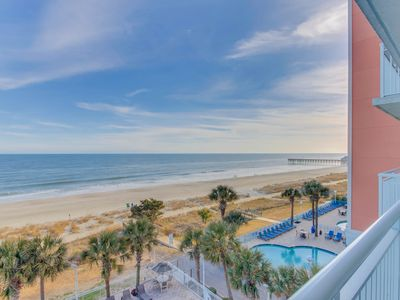 Photo for Stunning oceanfront condo with panoramic views