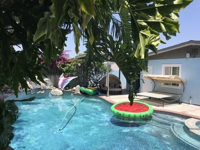 Photo for Sweet house, pool, spa, near Disneyland, and beach