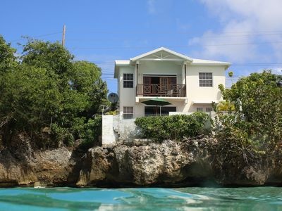 Photo for Luxury Ocean Front House, West Coast, Barbados