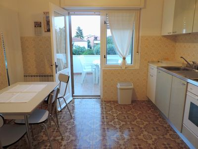 Photo for Spacious accommodation for groups Punta Umag near the barbecue beach Wifi