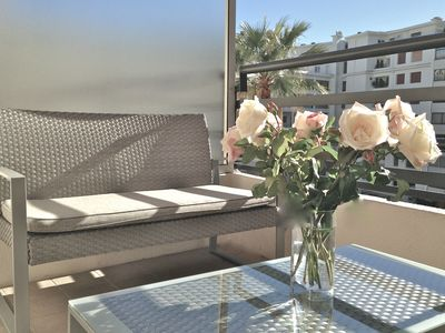 Photo for Studio terace  in Cannes, quiet, 50m away from the beaches of the Croisette, close to the Palais des Festivals
