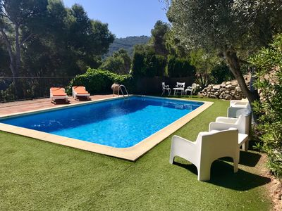 Photo for Beautiful house with private pool, sea views and chillout, near Sa Tuna, Begur.