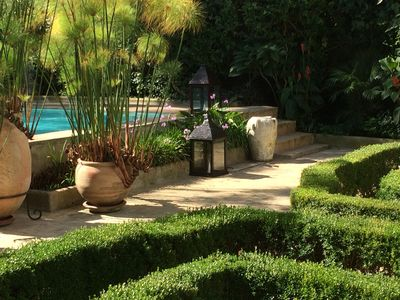 Photo for Luxury Villa with Garden, Pool & Hammam. House staff included.