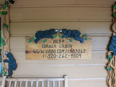 Photo for Newly Updates Gorgeous 2-bed/2-Bath Cabin, , Hot Tub, Arcade, Amenities of home