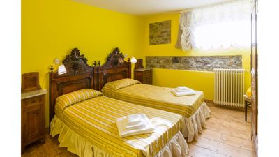 Photo for Limone Apartment - relax in a luxury villa in the hills of Lucca