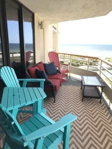 Photo for 3BR/3BA Ocean View-Spacious & Just Completely Redecorated! Great Balcony!