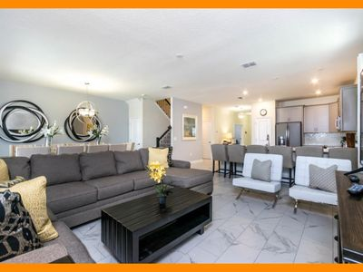 Photo for Storey Lake Resort 95 - villa with pool, home theater & game room near Disney