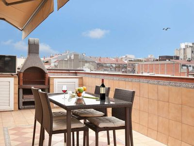 Photo for Penthouse with private terrace only 5 minutes walk from the Sagrada Familia