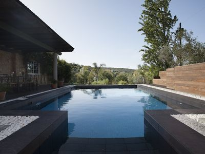 Photo for Secluded Mountain-View Modern Cottage with Private Pool - Close to Everything!