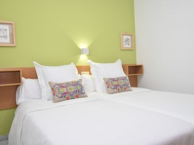 Photo for Cozy 3 Bedroom Apartment WIFI, AC and near parking a bullring