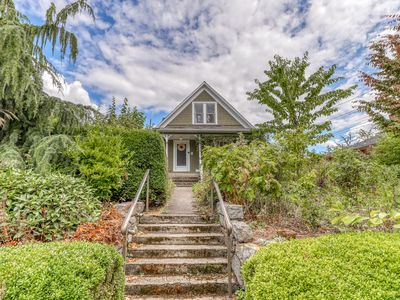 Photo for NEW LISTING! Historic, family friendly home w/ full kitchen, WiFi & garden!