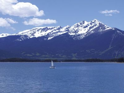 Photo for Premier Scenic Lakefront Luxury  Heart of Colorado Ski Country