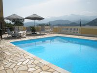 Beautiful villa with magnificent mountain scenery