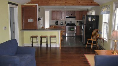 Large Open Living Room Kitchen