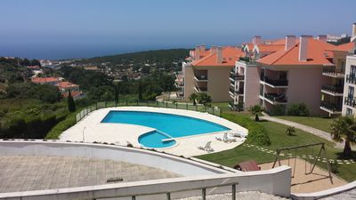 Photo for apartment sea view-portugal lisbon ericeira