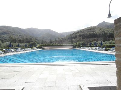 Photo for ELBA one room apartment in a splendid location near the sea with swimming pool and tennis courts