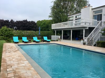 Photo for Westhampton - Serene, private, contemporary family vacation home!