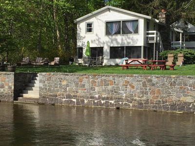 Photo for Lakefront Cottage w/ Dock, Kayaks