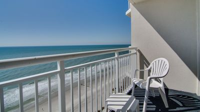 Photo for Oceanfront Suite for 8 + Private Balcony   Oceanfront Café On-Site!