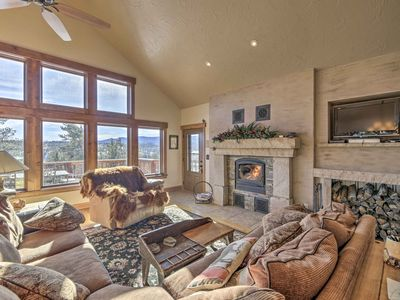 Photo for NEW! Red Feather Lakes Home w/ Mtn View + Hot Tub!