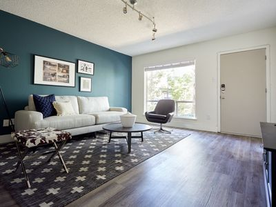 Photo for Chic 2BR at The Galleria by Sonder