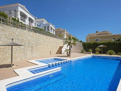 "Photo for Bungalow a short walk away (214 m) from the ""Cala Gasparet"" in Calp with Internet, Terrace, Washing machine (260557)"
