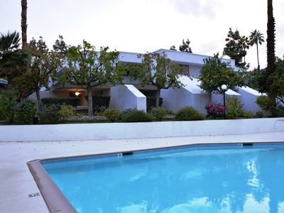 Photo for SANITIZED Steps from the pool in Palm Canyon Villas - By PADZU