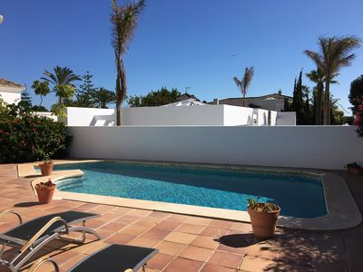 Photo for Charming villa in Los Monteros by the beach