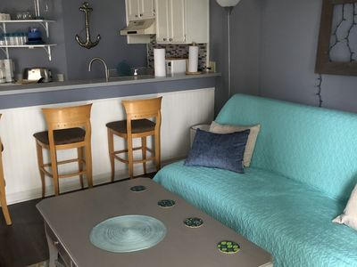 Photo for Adorable Condo 100 Steps from the BEACH