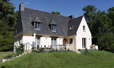 Photo for Very private newly renovated house with large garden just outside Paimpol