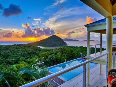 Photo for Tortola/Belmont Estates Villa w/ Infinity Pool!