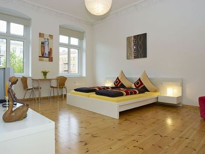 Photo for Kultur Brauerei apartment in Prenzlauer Berg with WiFi.