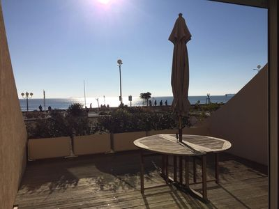 Photo for Apartment seafront La Baule