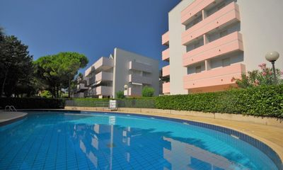 Photo for Apartment facing the pine forest and close to the beach