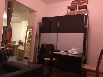 Photo for 1pc big studio type in center of lausanne u can stay 2 person