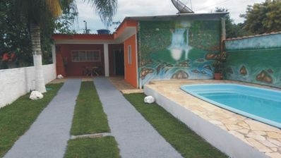 Photo for COMFORTABLE HOUSE 3 DORM WITH POOL BEACH Maranduba