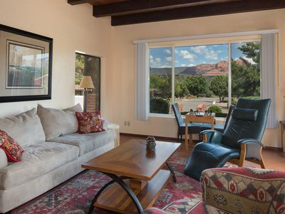 Photo for Red Rock Views in Uptown Sedona Minutes from the Action