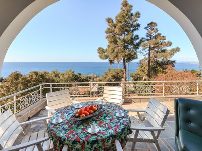 Photo for Sea View Authentic Greek Villa Althea 200m from the beach